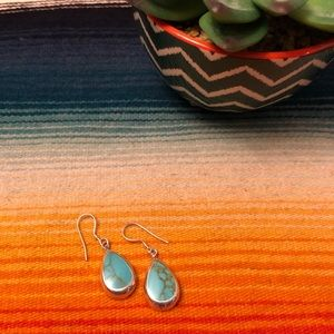 Jewelry - New Turquoise Sterling Silver Earrings